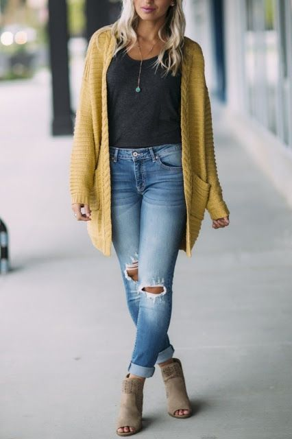 Super Cute Fall Outfit Ideas 2019 #style #outfitideas #casualoutfits #womenoutfi...