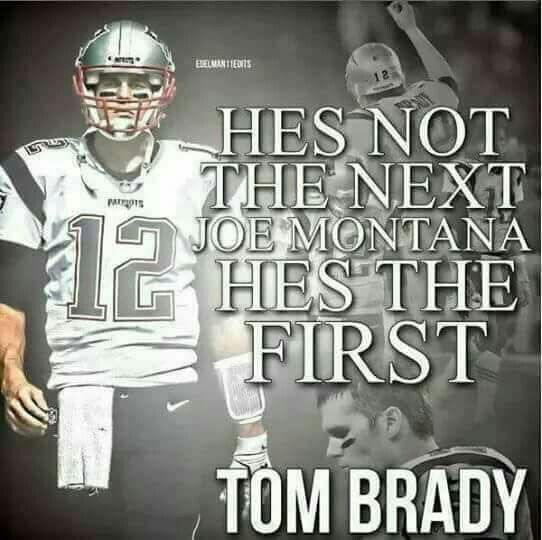 TB12  The only GOAT