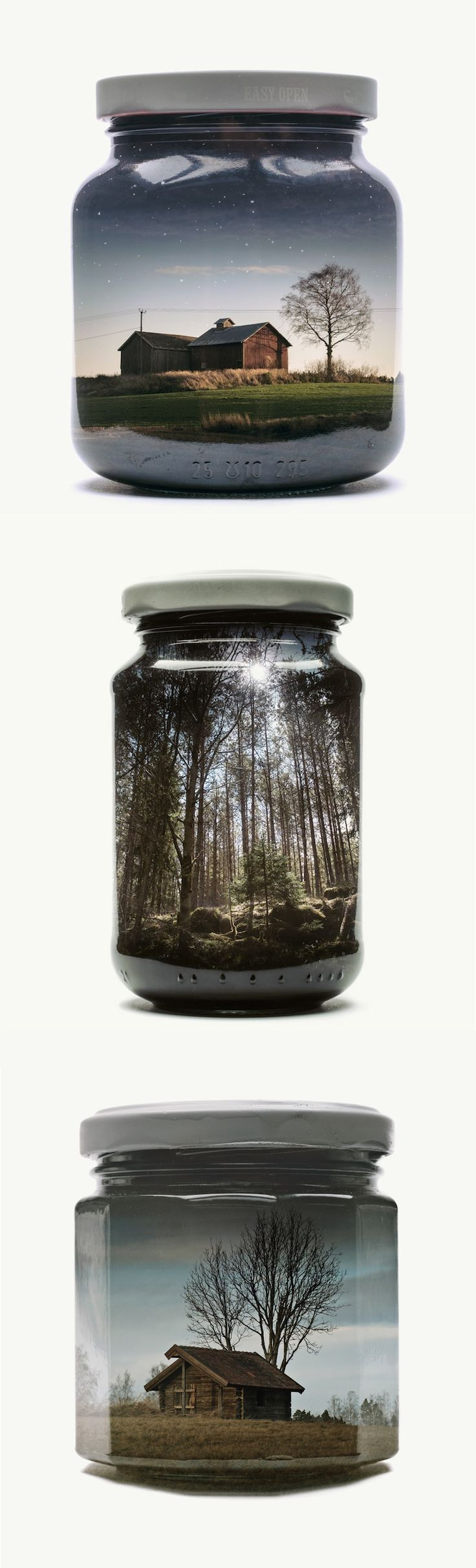 Photographer Christoffer Relander collects memories in an unusual way.