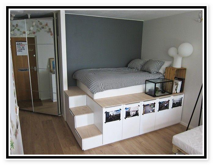 Ikea Platform Bed With Storage