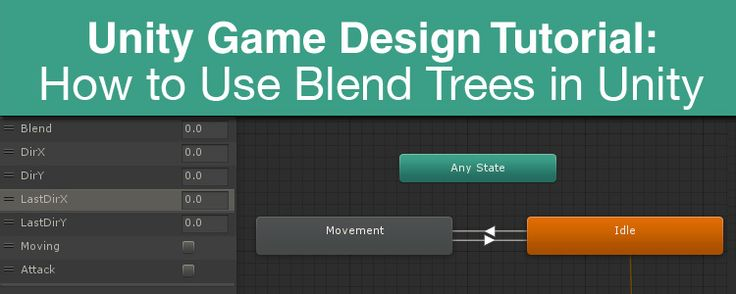 Game Design Tutorial: How to Use Blend Trees in Unity