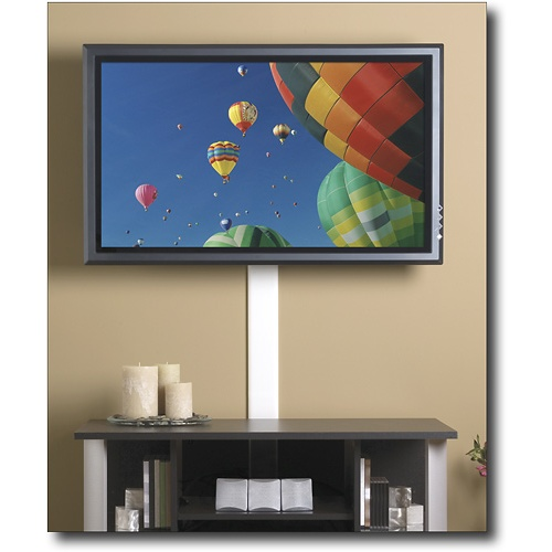 Used to hide wires from mounted tv wiremold flat screen for Ideas to cover tv wires