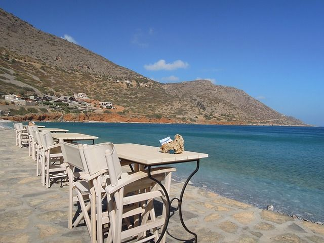Calimera Crete, Coffee time.
