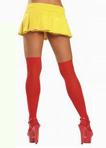 Women's Elastic Cotton Black Knee Length Stockings – teeteecee - fashion in style