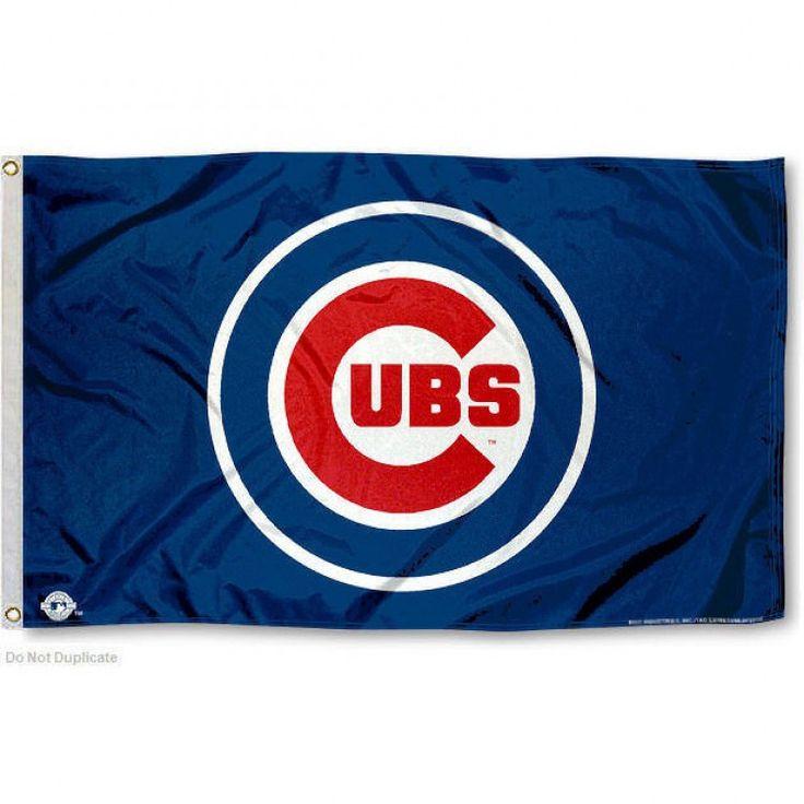 Chicago Cubs Flag - 3 ft x 5 ft - Blue Logo (backorder)