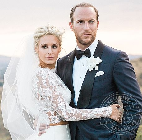 See all the photos from Morgan Stewart's (a.k.a. Boobs & Loubs) wedding to Brenden Fitzpatrick!
