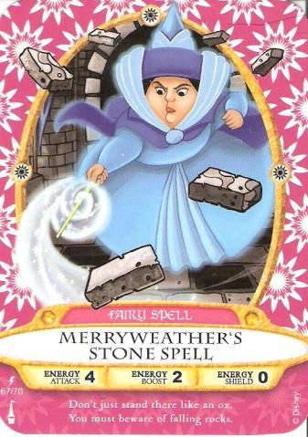 Fairy Spell - Merryweather's Stone Spell