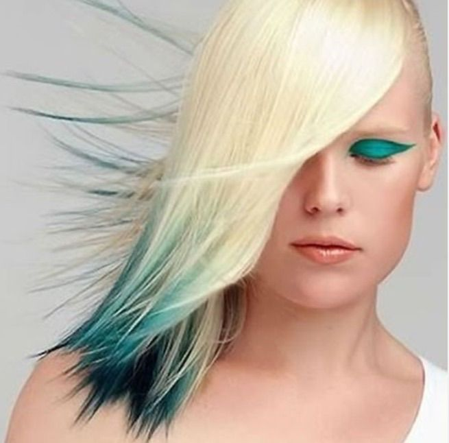 46 best Rainbow Color Hair Highlights images on Pinterest ...