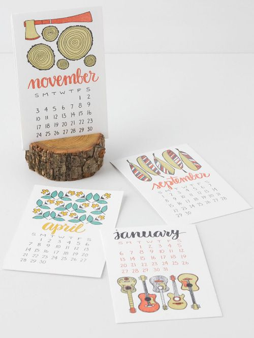 60 Unique 2013 Calendar Designs