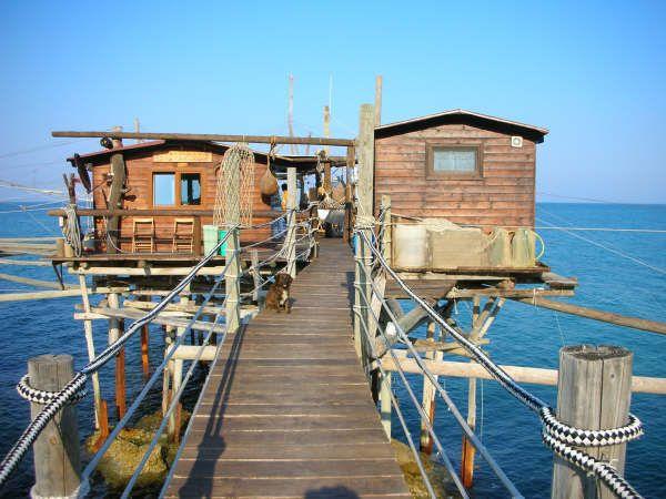 Trabocco restaurant vasto, abruzzo | where I'm going ...