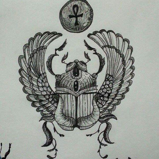 escaravelho egipcio. #painter #drowing #drow #art #drow #desenho
