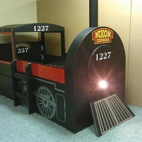 Train Bed by Chris Davis