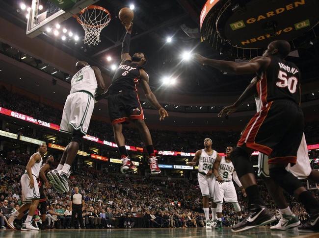 Succès des Boston Celtics sur le Heat de Miami (91-72).
