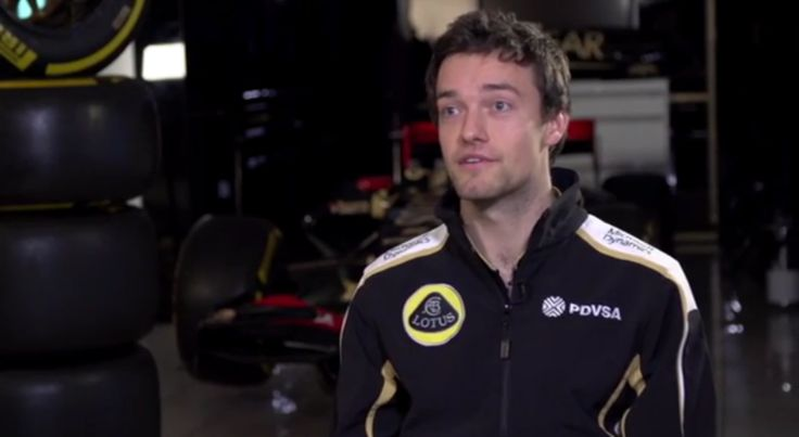 Lotus F1 Team 2015 - Interview With Jolyon Palmer (VIDEO)