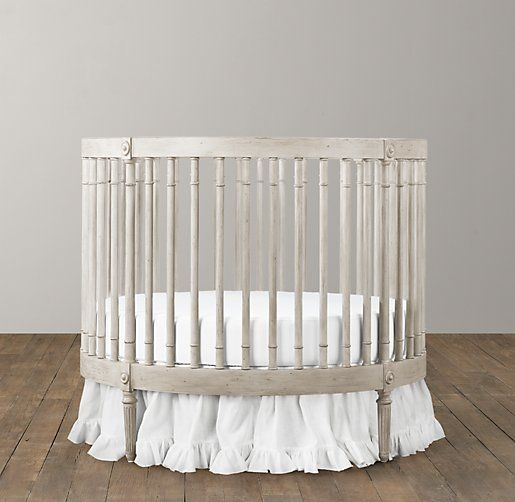 Project Nursery - Ellery Round Crib from RH Baby & Child