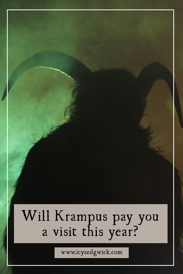 Krampus, sometimes seen as the Anti Santa, emerged into the mainstream last year with his own movie. But who is he...and how is he linked with Christmas?