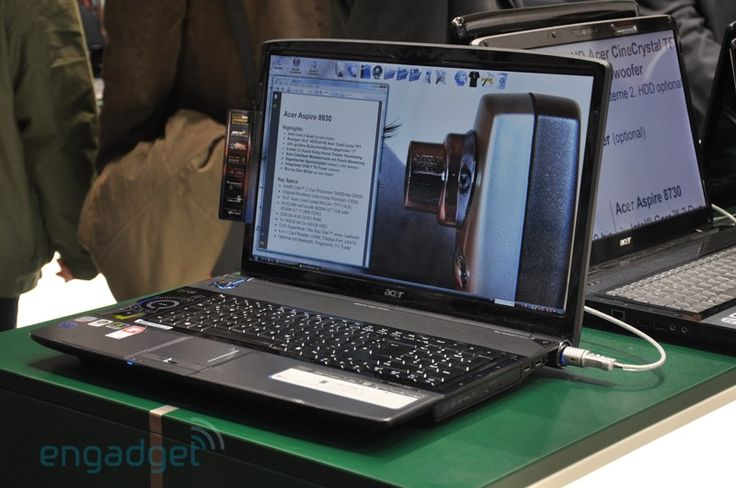 Cool Acer gaming laptops from CeBIT: Acer Aspire 8930 #AcerGamingLaptop