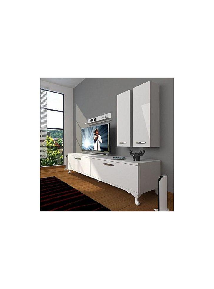 Interior Design Meuble Tv 180 Cm Meuble Tv Rustique Verona Cm