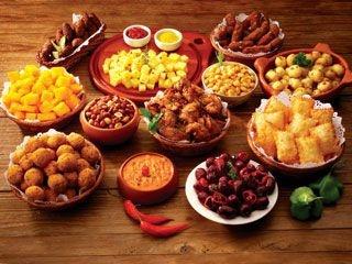 """Brazilian """"Rodízio de Petisco"""" (All you can eat of snacks)"""