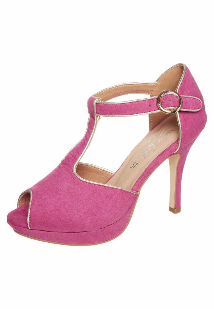 Andrea Conti - Platåpumps - rosa