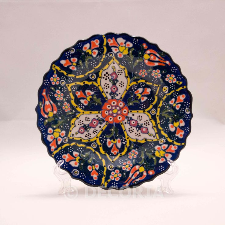 Small Plate - Blue - DECORIA HOME & GIFT
