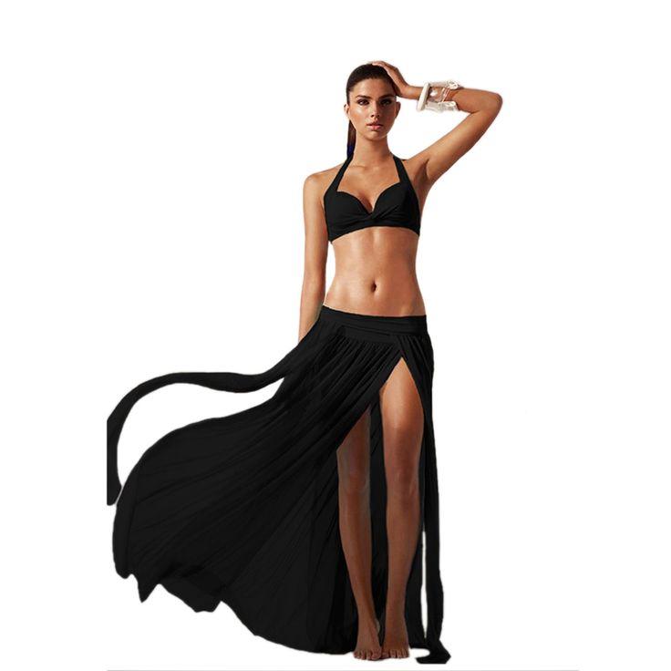 New Sexy Chiffon Summer Swimwear Dress Beach Cover Up Sarongs Bikini Scarf Tunic Wraps Women Lace Long Tassel Beach Dress