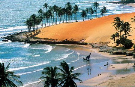 Praia da Lagoinha, Ceara, Brasil