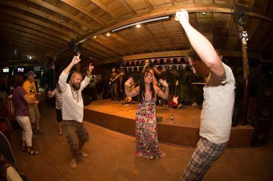 Dancing at the Seastar-one love reggae concert