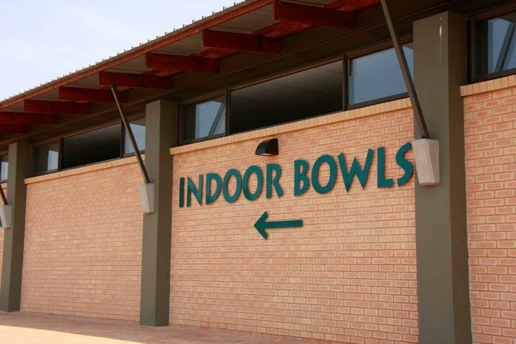 The indoor / outdoor bowling facility at Midstream Estates