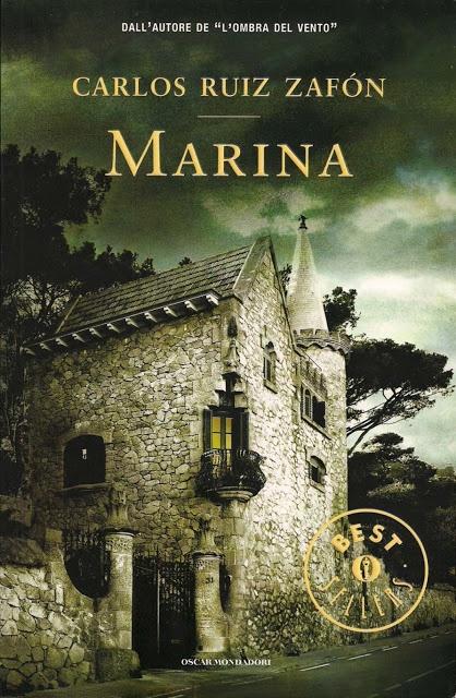 """""""Marina"""" di Carlos Ruiz Zafòn. Una storia affascinante che parla di un amore giovane e innocente, che fa da sfondo ad un mistero che trasporta il racconto verso il genere horror. Recensione: http://mnemosyneartblog.blogspot.it/2012/10/carlos-ruiz-zafon-marina.html #book #recensione #carlos #ruiz #zafon #marina #romance #thriller #horror"""