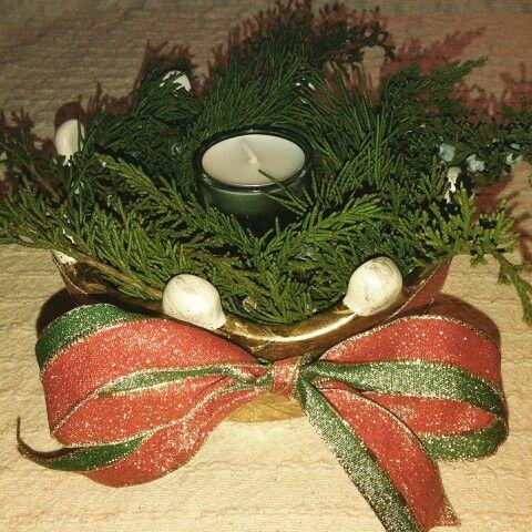 Christmas centerpiece. RU.