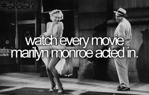 Watch Every Movie Marilyn Monroe Acted In