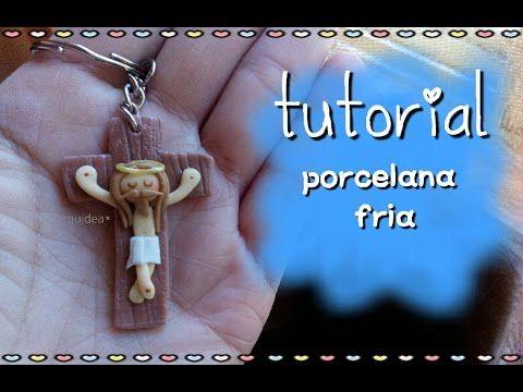 Souvenir cristo PORCELANA FRIA - YouTube
