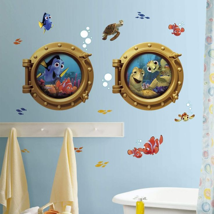 Tolle Wanddeko für das Kinderzimmer Behang, Markies