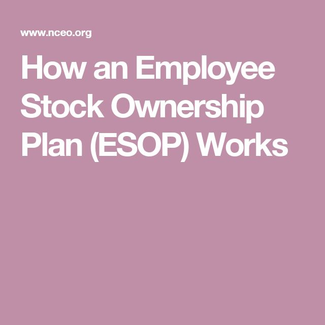 Best  Employee Stock Ownership Plan Ideas On