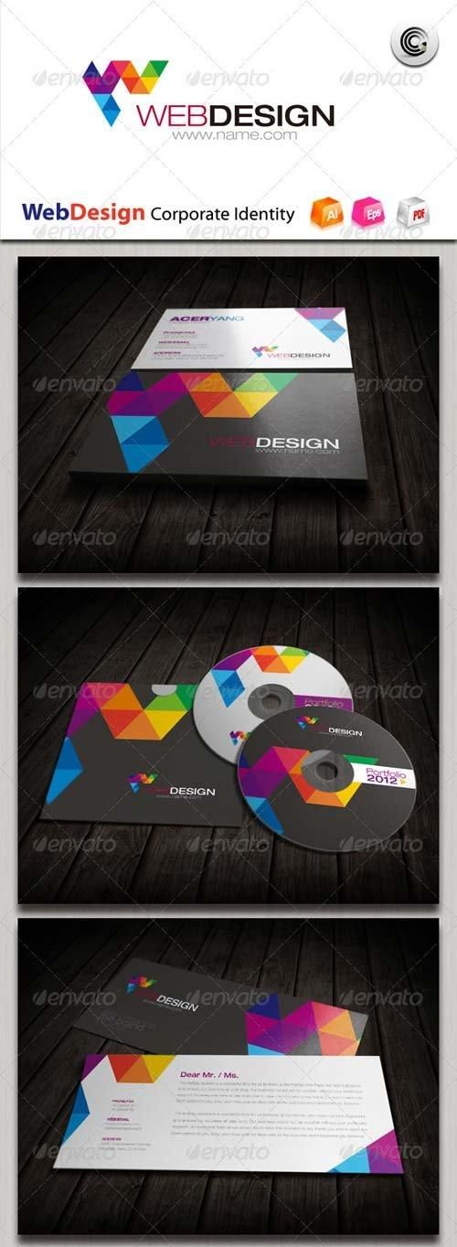 GraphicRiver Web Design Corporate Identity