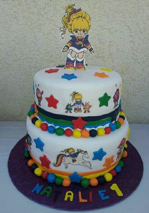 Rainbow Brite Cake My Cakes Pinterest Rainbows And Cake