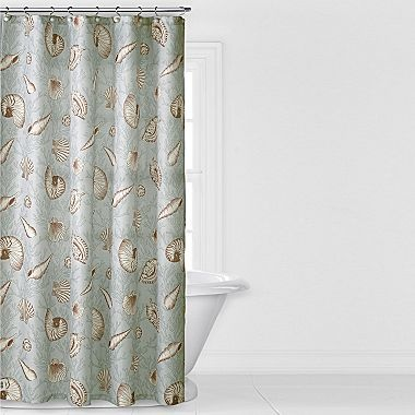 Best 25 fabric shower curtains ideas on pinterest extra - Jcpenney bathroom window curtains ...
