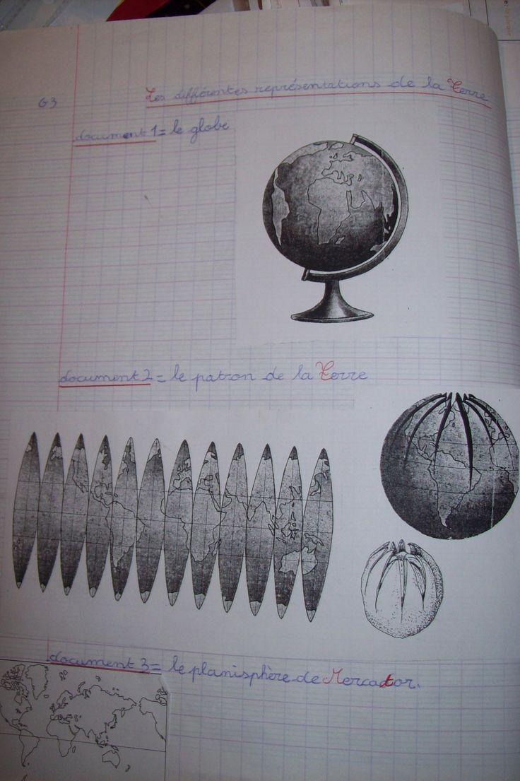Les différentes représentations de la Terre / Se repérer sur la Terre