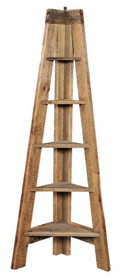 natural wood corner shelves - Google Search