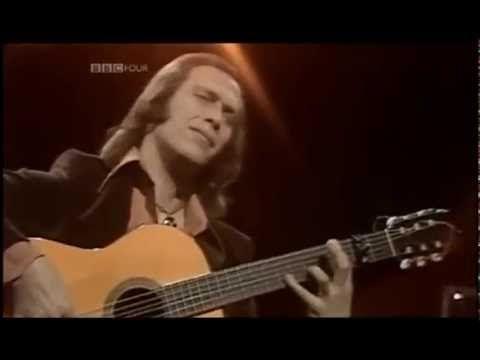 PACO DE LUCIA Almoraima GRABADO por la BBC EN 1976 FULL HD FLAMENCO