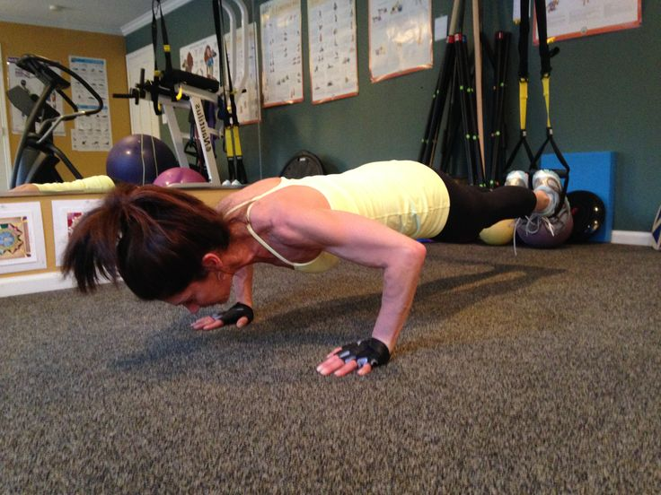 Have you tried the TRX suspension training? Push up with feet in the TRX!