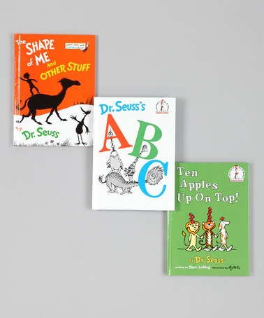 Take a look at this Dr. Seuss's ABC Book Set by Dr. Seuss Boutique on #zulily today!