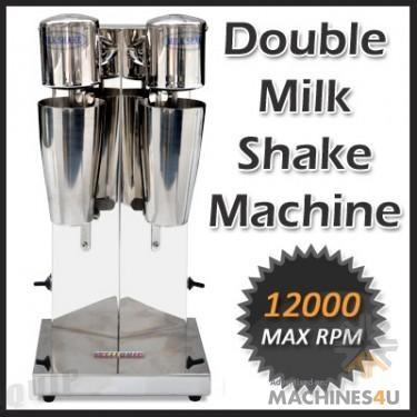Wellquip MILK SHAKE MACHINE (MSK2) - http://www.machines4u.com.au/browse/Catering-Equipment/Blender-503/Milkshake-Maker-3149/