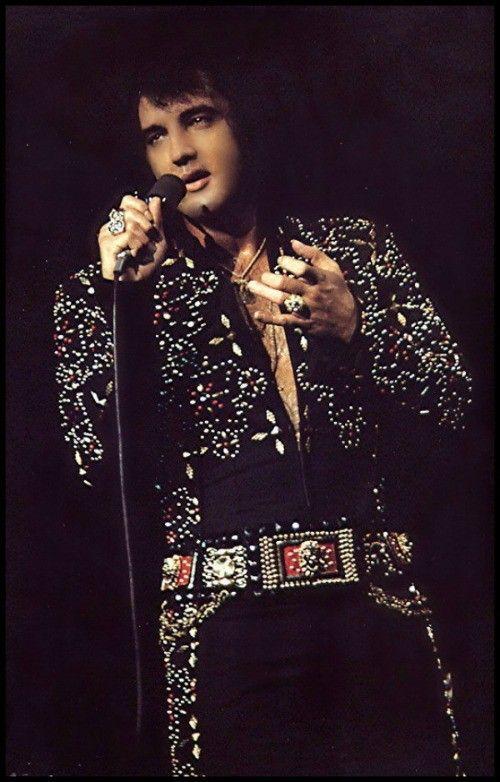 Elvis in concert...1972
