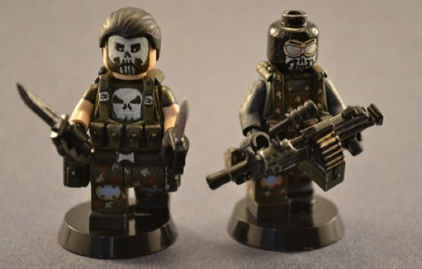 personalised lego warriors For Geoff