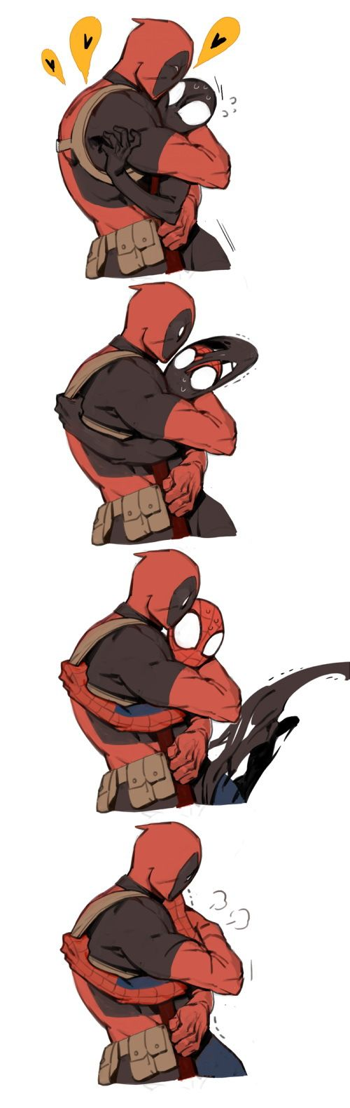 A little strip with Deadpool by Shishio - http://localmarketingreport.net/a-little-strip-with-deadpool-by-shishio/