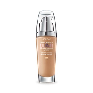Great results with this new foundation, goes on light, looks natural, gives me the sought after glow.  Mix with Magic Lumi for lighter coverage.  True Match Lumi Healthy Luminous Makeup - Foundation - L'Oreal Paris