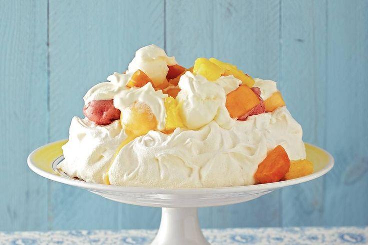 Een echte beauty met tropisch fruit en ijs. - Recept - Allerhande