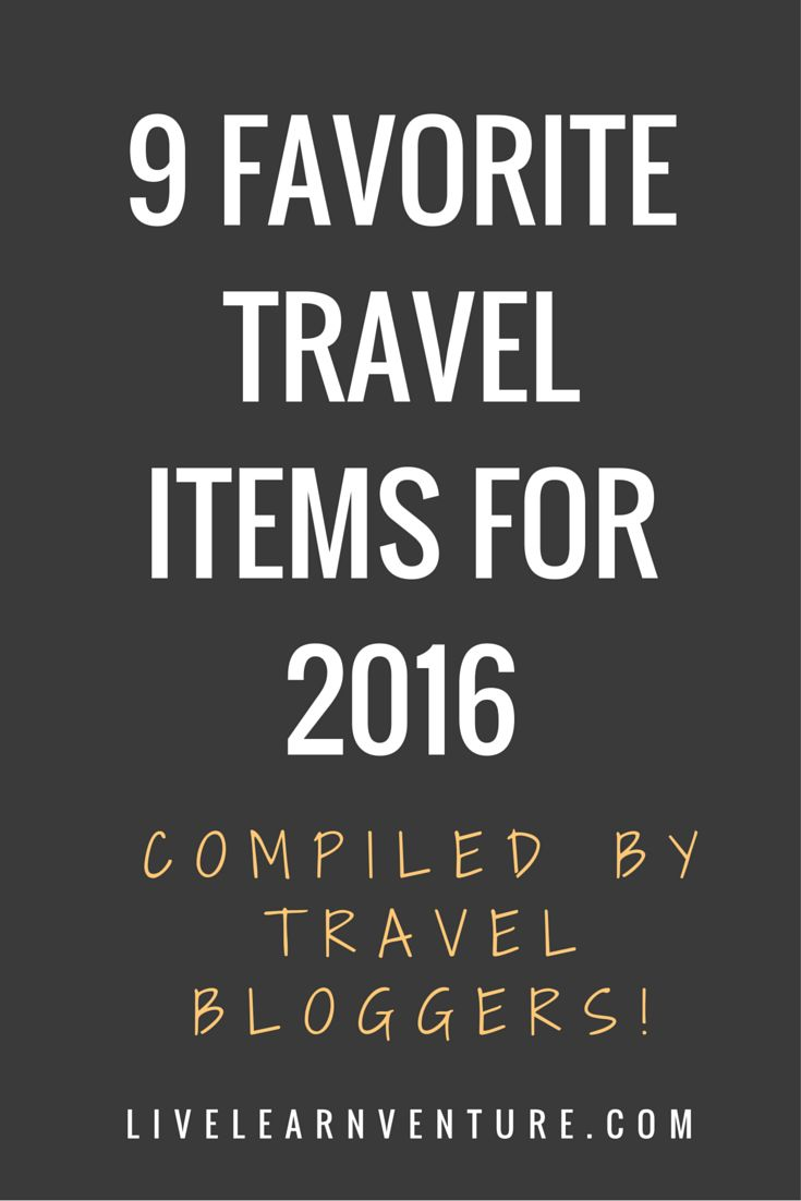 9 Favorite Travel Items! (compiled by travel bloggers!) #travel #traveltips #travelblogger